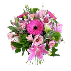 Bouquet fiori fucsia