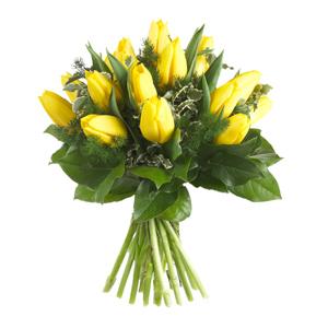 Bouquet tulipani gialli